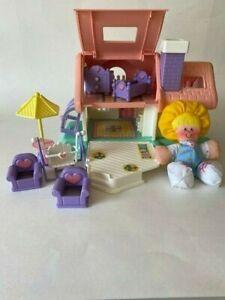 Vintage 1988 Smooshees Cuddlers At Home Fisher Price 7230 House Furniture Doll