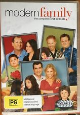 MODERN FAMILY: Complete First Season (4x DVD Disc Set, Region 4, 2010)