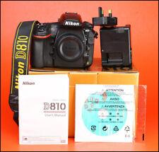 Nikon D810 DSLR 36.3MP Camera Body + Nikon Battery & Charger & 6 Month Warranty