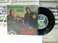 """Mud 7 """" Spanisch Moonshine Sally / Bye Johnny 1975"""