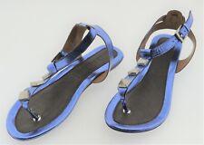 Ms004119 pilar abril daniela señora sandalias tira dedos azul UE 39