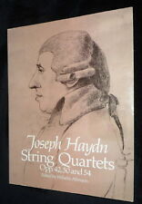 String Quartets Opp.42, 50 and 54 by Dover Publications Inc | V/G PB, 2002