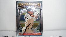 1993 Topps Finest Baseball #11 Jeff Bagwell Houston Astros
