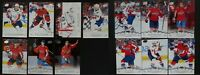 2018-19 Upper Deck UD Washington Capitals Series 1 & 2 Team Set 13 Hockey Cards