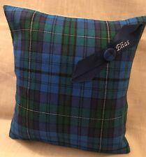 'Elias' Welsh Tartan Cushion Wedding Anniversary Birthday Christmas Gift