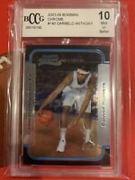 Carmelo Anthony RC 2003-04 Bowman Chrome Rookie Card#140 Graded Beckett BCCG10!