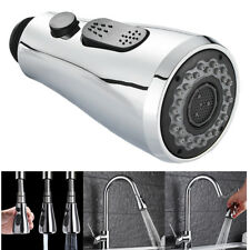 Pull Out Spray Head Replace Universal Kitchen Sink Faucet Basin Mixer Tap Silver