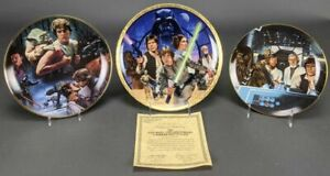 10 Ceramic Plates. Star Wars.