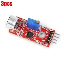 3Pcs High Sensitivity Microphone Sensor Avr Pic Sound Detection Module New Ic ci
