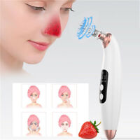 6 in 1 Electric Blackhead Remover Facial Skin Pore Cleaner Vacuum Acne Cleanser~