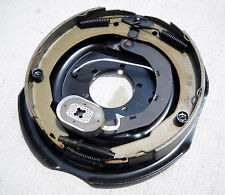 "One- 12"" x  2"" Right Brake Side Electric Trailer Axle Backing Plate Back"