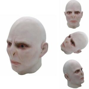 Voldemort Halloween Haunted Scary Full Face Mask Cosplay Costume Fancy Dress Up