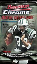 2001 Bowman Chrome Football Sealed Hobby Pack