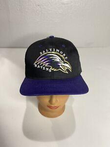 Vintage Baltimore Ravens Snapback Hat NFL NWT