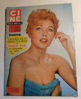 Ciné Télé-Revue n° 28 - 1960.  DANIELLE GODET - PAUL NEWMAN
