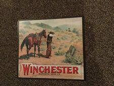 Winchester gun. Poster