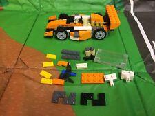 Lego Creator 3 in 1 Sunset Speeder Set 31017, No Instructions.