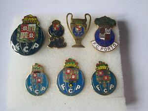 J1 Lot 7 Pins Lot Futebol Clube Do Porto FC Club Brosche Football Fußball Pins