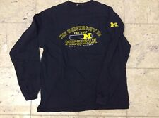Vintage UNIVERSITY OF MICHIGAN Gear XL long sleeve t-shirt tee