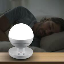 Portable 10 LED Bedside Dimming Touch Night Light Reading Camping Sleeping lamp