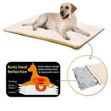 Washable Self Heating Pet Dog Cat Bed Fleece Mat Blanket Rug Pad Favor Soft E3O2