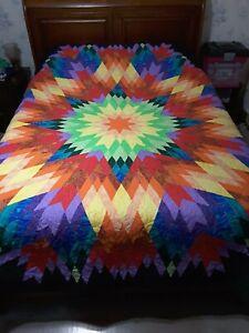 Handmade, queen size, Super Nova quilt