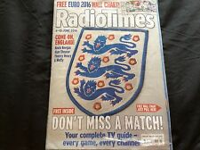 RADIO TIMES FOOTBALL SPECIAL INCLUDES EURO 2016 WALL CHART 4 - 10 JUNE 2016