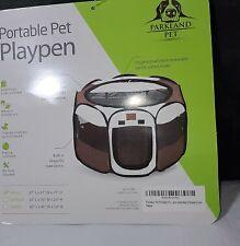 "Parkland Pet Portable Pet Playpen, Small, 27""x27""x17, NEW"