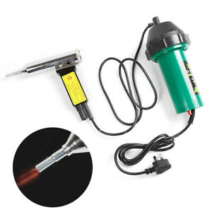 220V 1000W Plastic Welder Hot Air Torch Heat Gun Set  Welding Gun Welder