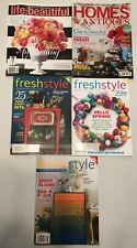 New ListingMisc. Home Decor Magazines