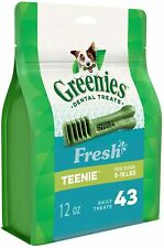 GREENIES™ Fresh Dog Dental Treats - Teenie, 12oz (43 treats)
