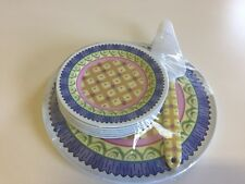 8 Piece Cake Serving Set Made for Pfaltzgraff by The Market Source Company - NIB