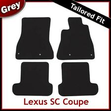 LEXUS SC Coupe 2001 2002 2003...2012 Tailored Fitted Carpet Car Mats GREY