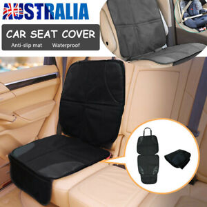 Car Seat Cover Under Child Seat Leather Saver Protector Mat  Anti-Slip Safety AU