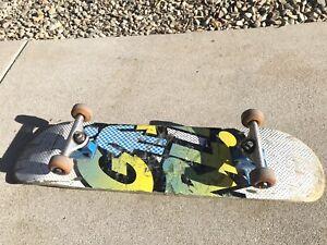 Girl Skateboards Eric Koston 8 x 31.75 Independent Trucks Spitfire Wheels Rare