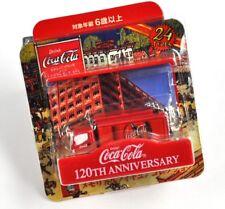 Hermoso COCA-COLA Japón COKE Llavero Llavero - Mini Van Roja