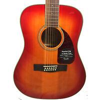 Fender CD-160SE 12-String Acoustic Electric Guitar Dreadnought - Cherry Sunburst