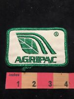 Vtg AGRIPAC Farmer / Agriculture Advertising Patch 87NI