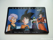 Carte Dragon Ball Z Card DBZ / Hero Collection Part 3 - N°249 / NEW
