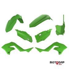 Kit Plastiche Restyling Kawasaki Kx 125 250 2003 2004 2005 2006 2007 2008 Verde