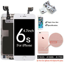 for iPhone 6s 4.7'' Screen Replacement LCD Touch Digitizer Camera Button White