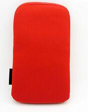 2080 Funda Roja de Terciopelo para Telefono Movil iPhone 4G 3G 3Gs 4S Nuevo