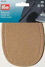 Prym Iron-On Cord Corduroy Beige Elbow/Knee Patches  929323