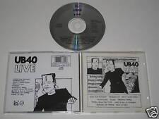UB 40/LIVE (VIRGIN DEP CD4) CD ALBUM