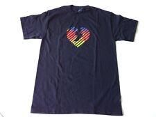 COLOR THEORY, SKATEBOARD T SHIRT, HEART, SMALL