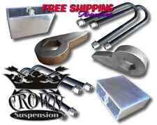 Crown Suspension 98-14 Ranger Edge 4wd Adjustable Torsion Keys Blocks Lift Kit