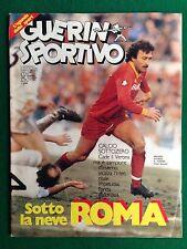 GUERIN SPORTIVO 1985 n 3 , PRUZZO ROMA con Poster SAMPDORIA 1984/85