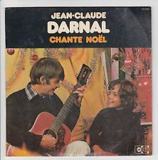 "Jean-Claude DARNAL Vinyle 45 tours SP 7"" NOEL MADEMOISELLE - UNIDISC 11 035 RARE"