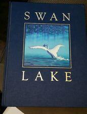 SIGNED Allsburg!Swan Lake , Mark Helprin, Chris Van Allsburg (1989, HC) ! 1st ed