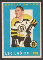 1959-60  TOPPS  # 7  LEO LABINE   INV A2406